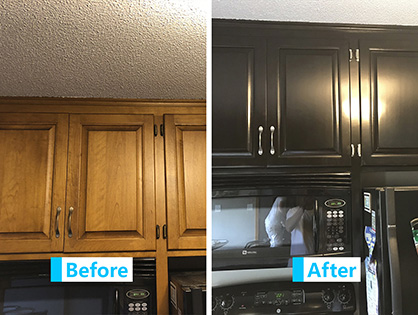 Kitchen Cabinets Refinishing Gallery